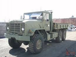 100 6x6 Military Truck 1986 AM General M923A1 5Ton Cargo 9750 ORIG MILES