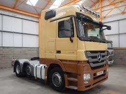 100 Mercedes 6 Wheel Truck MERCEDES BENZ ACTROS 254 MEGASPACE X 2 EURO 5 TRACTOR UNIT 2010