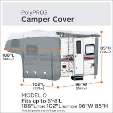 Classic Accessories 80-396-301001-RT PolyPro 3 RV Cover For 6-8 ... Rv For Sale Canada Dealers Dealerships Parts Accsories 2019 Palomino Ss550 Short Bed Truck Camper Custom Dfw Corral Wwe Wrestler Goldberg Picked Up An Are V Series Camper Shell For His Reno Carson City Sacramento Folsom Classic 803963001rt Polypro 3 Cover 68 Overland Gear Best 4x4 Off Road Camping Padgham Automotive Vintage Based Trailers From Oldtrailercom Editorial Photography Image Of 2018 Ss500