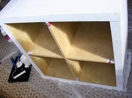 customiser le papier ikea customiser une armoire ikea etape fixer la bche with