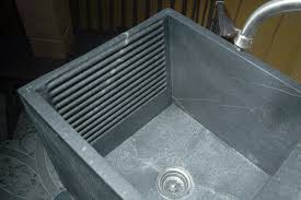 Stainless Steel Utility Sink With Legs by Laundry Tubs Bucks Country Soapstone Company Inc