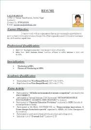 Example Format Of Resume Full Size Malaysia