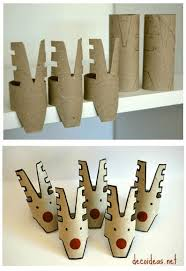 10 Christmas Craft Projects Made Out Of Upcycled Toilet Paper Rolls