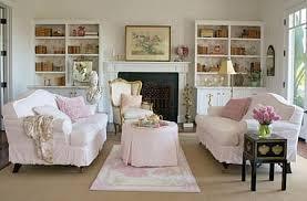 wie richtet das wohnzimmer im shabby chic stil ein