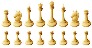 White Chess Pieces PNG Clipart