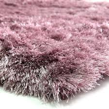 tapis aubergine pas cher tapis doux moelleux couleur 130x190cm monbeautapis