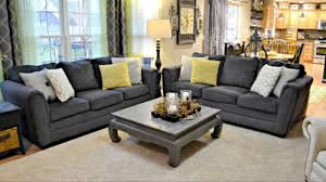 Simmons Sofas At Big Lots by Simmons Flannel Charcoal Sofa With Pillows Photos Hd Moksedesign