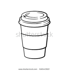 How To Draw A Coffee Cup And I Cartoons Every Day Sometimes On