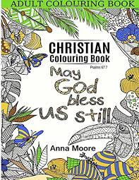 Adult Colouring Book Christian Inspirational Bible Blessings Quotes For Christians And People