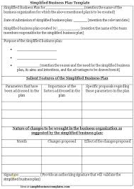 Inspirational Small Business Plan Template Free Best Sample