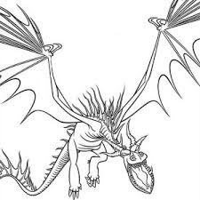 How To Train Your Dragon Drawing Coloring Pages