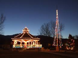 Flagpole Christmas Tree by In The Carson Valley The Address