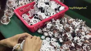 12 Sided Fidget Cubes Factory Tour