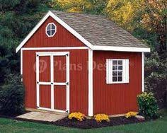 8x10 Saltbox Shed Plans by Shed Plans 8 X 10 Storage Utility Garden Building Blueprints
