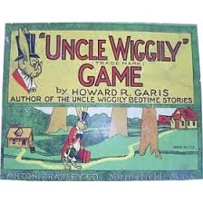 Uncle Wiggily Board Game 1930s