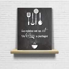 toile deco cuisine beautiful cadre ardoise cuisine ideas ridgewayng com