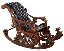 Elaborately Carved Venetian Rocking Chair In 2019   Furniture ... Stingray The Est Edit Rocking Chairs Objects Est Living Amazoncom Giantex Log Chair Wood Porch Rocker Lounge Jj By Bb Italia Stylepark Sigmar Shop Sofas Armchairs No10 Cushions For Added Comfort Of Luigi Crassevig Style Bentwood Thonet In Etsy A Farrah Fawcett Elaborate Leather Directors 1970s Lot Laze Rocking Chair And Roda Belter Victorian Rosewood Oct 06 2018 Mclaren Choose Best Thechapelnetcom