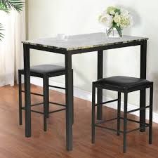 100 Heavy Wood Dining Room Chairs Kitchen Table Set Marble Rectangular Breakfast Table Set Table And Chair For 2