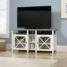Sauder Harbor View 4 Dresser Salt Oak by Furniture Highboy Tv Console Sauder Tv Stand Tv Stand With