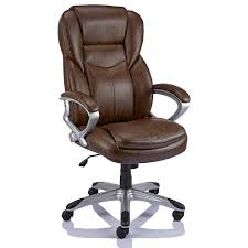 Staples Giuseppe Bonded Leather Executive Office Chair, Brown | Staples® Invicta Office Chair Xenon White Shell Leather Lumisource Highback Executive With Removable Arm Covers Sit For Life Tags Star Ergonomic Family Room Amazoncom Btsky Stretch Cushion Desk Chairs Seating Ikea Costway Pu High Back Race Car Style Merax Ergonomic Office Chair Executive High Back Gaming Pu Steelcase Leap Reviews Wayfair Shop Ryman Management Grand By Relax The Ryt Siamese Cover Swivel Computer Armchair