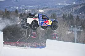 100 Trucks In Snow History Of Red Bull Frozen Rush Truck Race On Snow