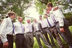 You Could Have Each Groomsmen Wear A Different Color Tie If They Are Walking Together With Bridesmaid Can Them Match Their Partner