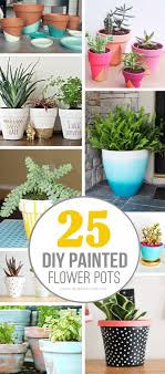 25 DIY Painted Flower Pot Ideasyoull LOVE