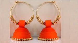 How To Make Paper Earrings Jhumka | Paper Quilling Tutorial - YouTube How To Make Pearl Bridal Necklace With Silk Thread Jhumkas Quiled Paper Jhumka Indian Earrings Diy 36 Fun Jewelry Ideas Projects For Teens To Make Pearls Designer Jewellery Simple Yet Elegant Saree Kuchu Design At Home How Designer Earrings Home Simple And Double Coloured 3 Step Jhumkas In A Very Easy Silk Earring Bridal Art Creativity 128 Jhumka Multi Coloured Pom Poms Earring Making Jewellery Owl Holder Diy Frame With