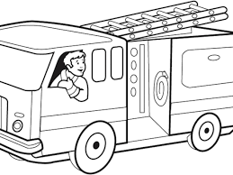 100 How To Draw A Fire Truck For Kids Image 20 Of 48 Coloring Page 82 Bout Remodel