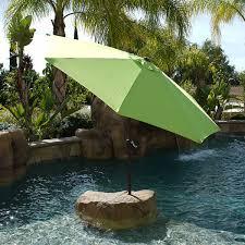 9 Ft Patio Umbrella With Crank by 9 Ft Patio Outdoor Garden Umbrella Aluminum Market Yard Crank Tilt