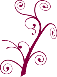 Maroon Flower Cliparts 2488141