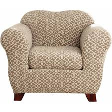 Sure Fit Stretch T Cushion Sofa Slipcover by Sure Fit Stretch Ironworks Chair Slipcover Walmart Com