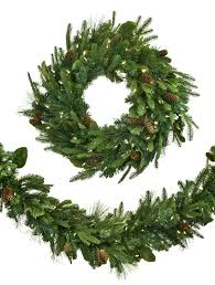 Christmas Tree Shop Danbury Ct Number by Mixed Evergreen Outdoor Wreaths And Garlands Balsam Hill
