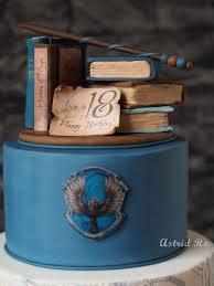 harry potter ravenclaw fondant cake astrid ro coole