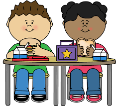 Transparent Collection Of Kids Eating At School Svg Stock Lunch Clipart Breakfast
