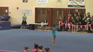 2016 usag level 3 floor routine 9 850 1st place at gold rush