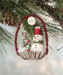 Molded Christmas Decorations New Snowman Jello Mold Ornament Pinterest