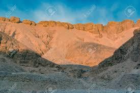 100 In The Valley Of The Kings Desert Hillside With Stones Egypt