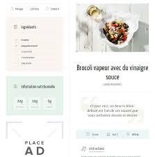 site recette de cuisine thèmes pour site de recette de cuisine