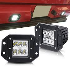 TURBOSII Spot 3X3 Flush Mount Waterproof Pods Cube Reverse Backup ... Automotive Household Truck Trailer Rv Lighting Led Light Bulbs Masculine Backup Lights For Trucks Led Backup Problem With Back Up Led Strobe Kit 2017 Ford F250 And Lights Youtube 2016 Silverado Auxiliary Trucklitesignalstat 24 Diode Clear Rectangular Backup Frontier Gear Diamond Series Full Width Black Rear Hd Eyourlife 20 Tail Bar Dc12v Red Amber White 2012 Lariat 4wd Transndence Amazoncom Krator Hitch Brake Reverse Signal For M998 Hmmwv Marks Tech Journal Looking Suggestion On Enthusiasts