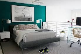 chambre bleu turquoise bleu turquoise et gris en 30 idées de peinture et décoration