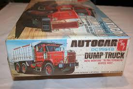 AMT T817 AUTOCAR DC 9964b Dump Truck Model Kit | EBay