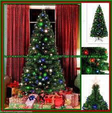 Fiber Optics Christmas Trees Artificial by 7 U0027 Ft Fiber Optic Pre Lit Artificial Christmas Tree W 280 Led