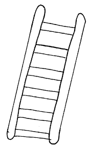 Parshas Vayeitzei Yaacovs Ladder Coloring Page