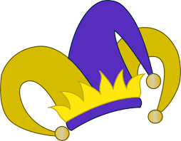 Pin Jester Clipart Silly Hat 2