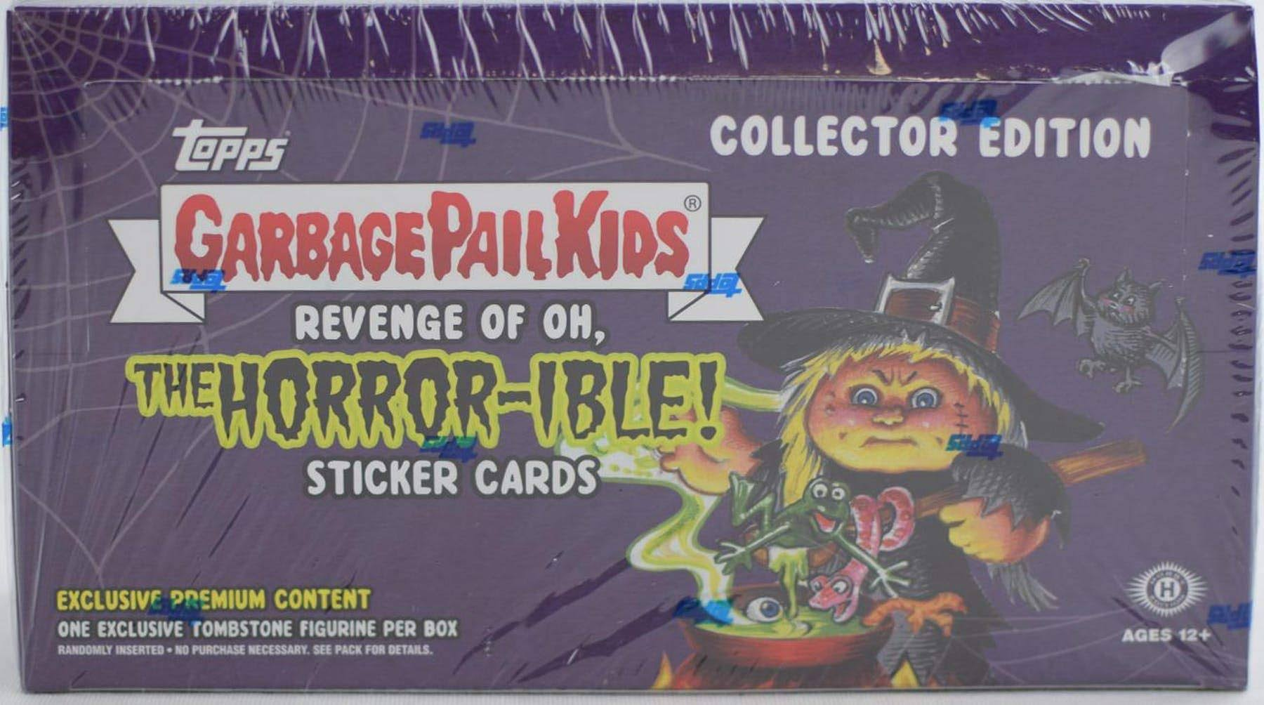 Garbage Pail Kids Topps Series 2 Revenge of The Oh, The Horror-ible Trading Sticker Card Hobby Box [Collector Edition]