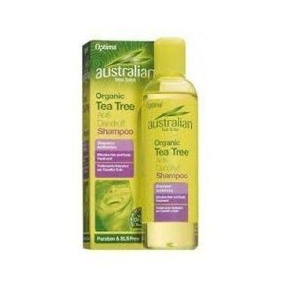 Optima Australian Anti-Dandruff Shampoo - Tea Tree, 250ml
