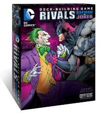 dc comics deck building game rivals batman vs the joker
