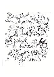 Coloriages Alphabet Et Lettres Regarding Coloriage Abecedaire Noel