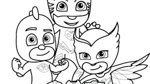 Coloring Pages Pj Masks Gecko New And From Copy To Print For Free
